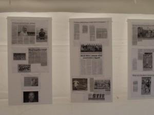 Ukázka z výstavky k 80. výročí založení Blesku